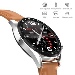 L7 Smartwatch Elegant IP68 BT ECG + PPG HRV GPS Heart Rate Watch Blood Pressure for Android / IOS