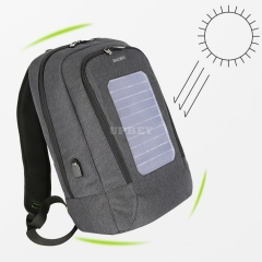 Backpack with Solar Panel USB Charging 15 Inch Laptop Business Waterproof School Bag For Men Women Travel Knapsack Antitheft Smart Shoulder