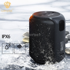 Bluetooth Speakers 5.0 TWS Lenyes S805 Surround Sound 360 Degree Waterproof IPX6 15W Wireless for Outdoor Music Player