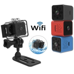 SQ23 HD WIFI Mini Camera 1080P Video Sensor Night Vision Camcorder Micro Cameras DVR Recorder Black
