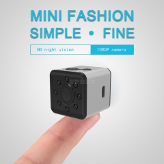 Wifi Mini Sports Action Camera- FHD Resolutions, Loop-Cycle Recording, Motion Detection, Night Vision-Silver