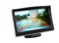5Inch Rearview Mirror Monitor -  Button Control, 4:3 Ratio, 480x272