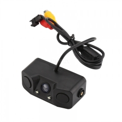 Car Rearview Camera - Nightvision, 1/3-Inch CMOS, 170-Degree Wide-Angle Lens, Waterproof, Distance Alarm