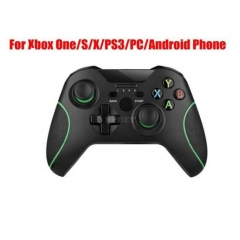 2.4G Wireless Controller for Xbox One Console for PC for Android Smartphone Gamepad Joystick black