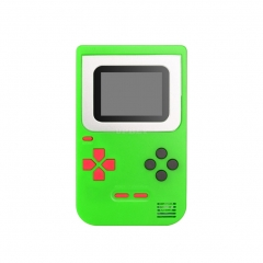 Game Console Q2 Handheld Game Host Built-in 268 Games 8 Bit Children's Game console Green