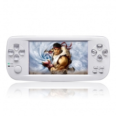 PAP K3 Handheld  Game Console Child Game Console with 64bit 16G Memory white