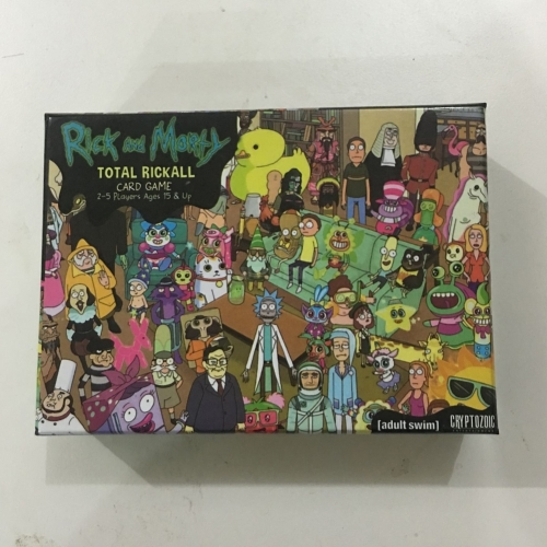 Rick and Morty Total Rickall Card Game Play Game Cards Collection for Fun Rick and morty game cards