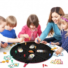 Kids Treasure Cognitive Intelligence Early Education Card Board Game
