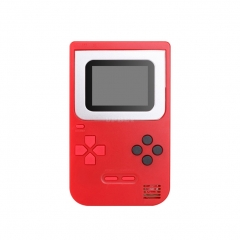Game Console Q2 Handheld Game Host Built-in 268 Games 8 Bit Children's Game console Red