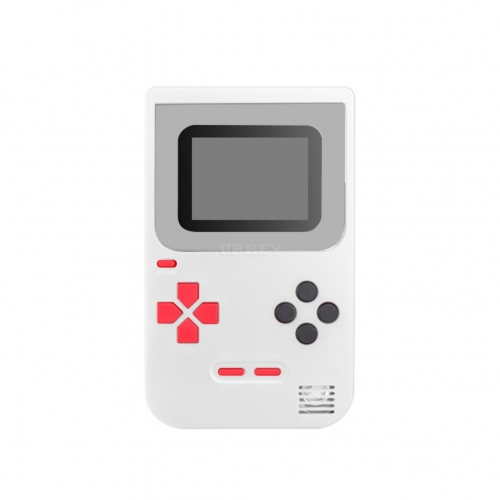 Game Console Q2 Handheld Game Host Built-in 268 Games 8 Bit Children's Game console White