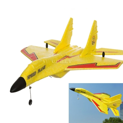 RC Electric Airplane MIG 530 Toys Drone Fly Aircraft + Remote Control Flying Distance 3D Gift Kids Fun