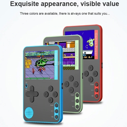 Ultra Thin RS-60/K10 Portable Handheld Game Console Built-in 500 Classic 8 Bit Games Retro Video 2.4 Inch Screen Retrogames